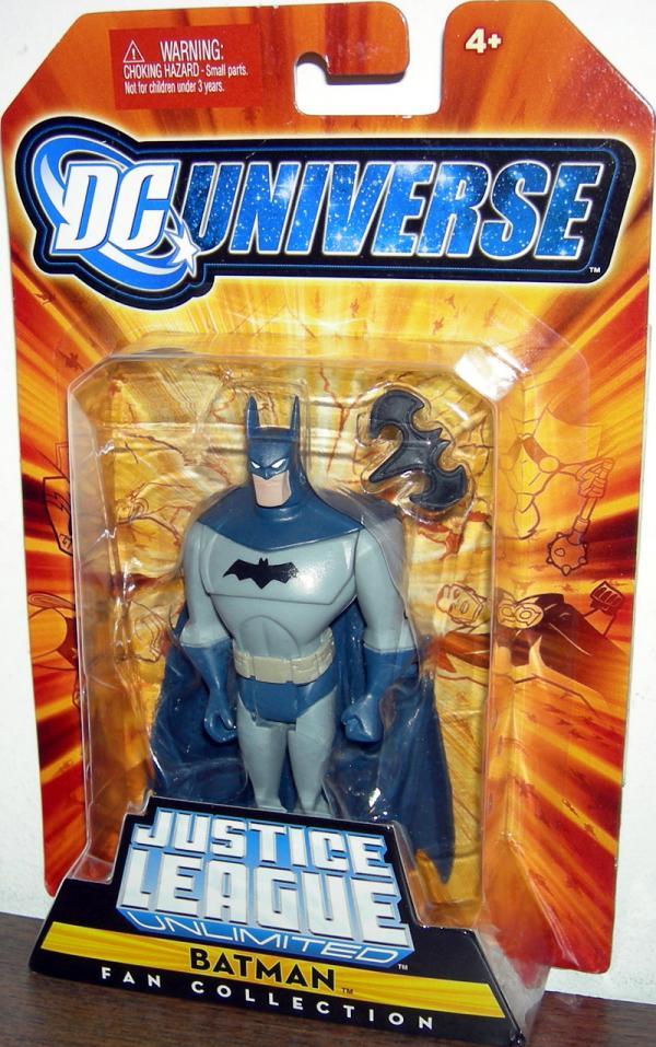 Batman Fan Collection, dark blue grey suit