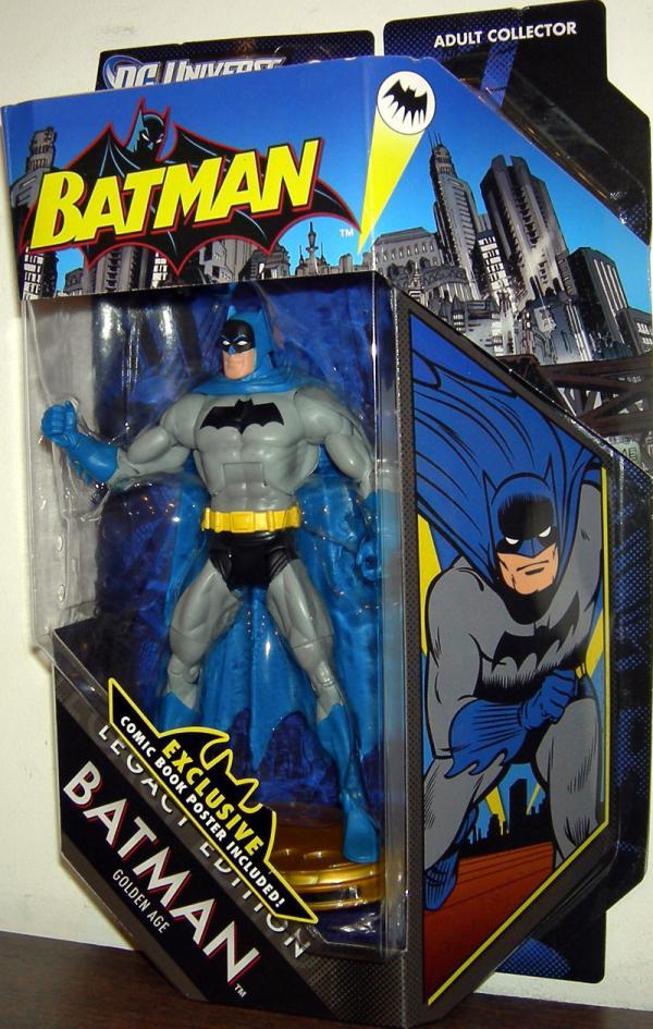 Batman Golden Age Figure DC Universe Legacy Edition