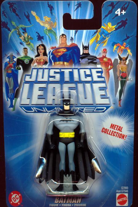 Batman Justice League Unlimited diecast