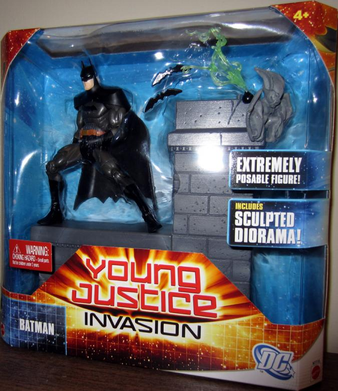 Batman Figure Young Justice Invasion Mattel