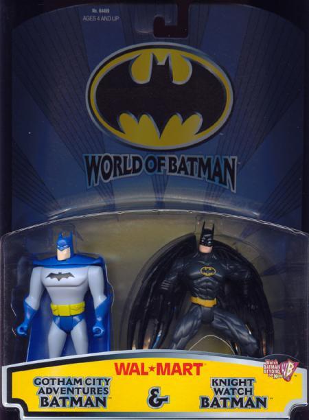 Gotham City Adventures Batman Knight Watch action figures