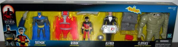 Batman Robin Alfred Clayface Figures New Adventures