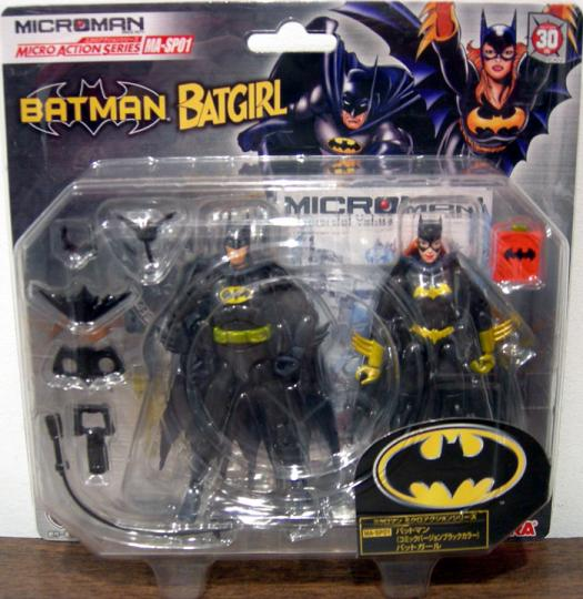 Batman Batgirl Takara Microman