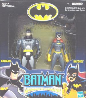 Batman Batgirl Gatekeepers Gotham City action figures