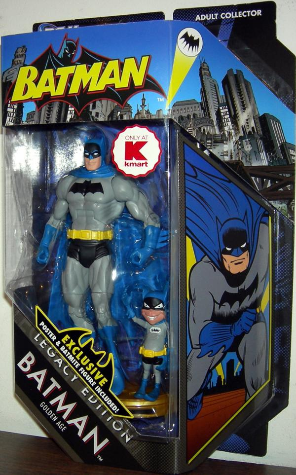 Batman Golden Age Batmite DC Universe, Legacy Edition, Kmart Exclusive