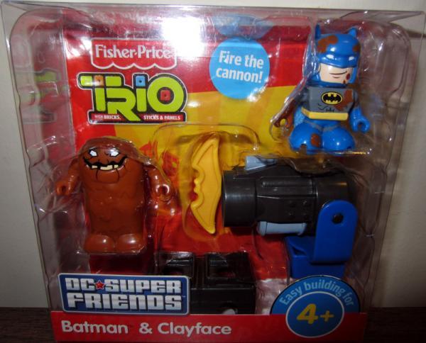 Batman Clayface Action Figures Trio Fisher-Price
