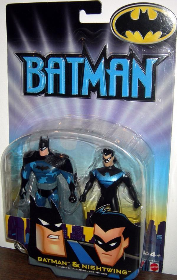 Batman Nightwing Figures 2002 Carded Mattel
