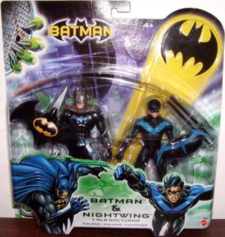 Batman Nightwing Figures New Sculpt Carded Mattel