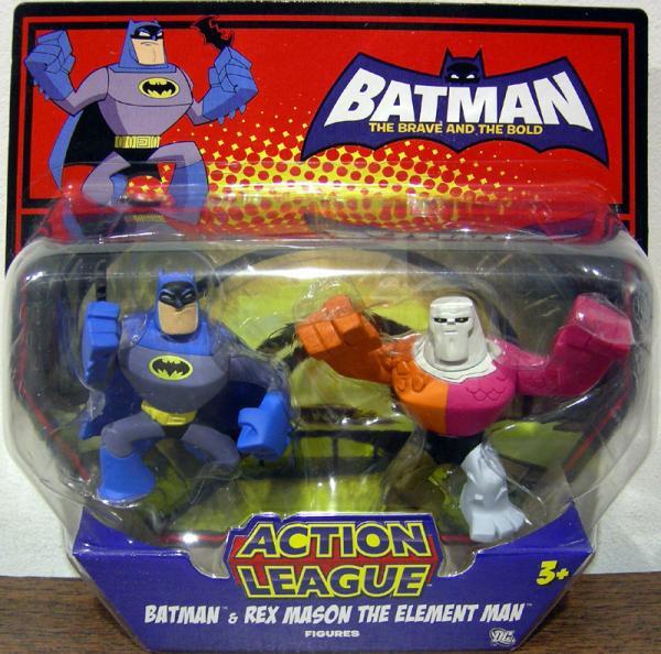 Batman Rex Mason Element Man Action League