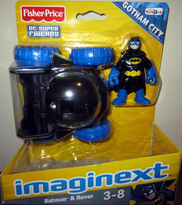 Batman Rover Vehicle Imaginext Toys R Us Exclusive