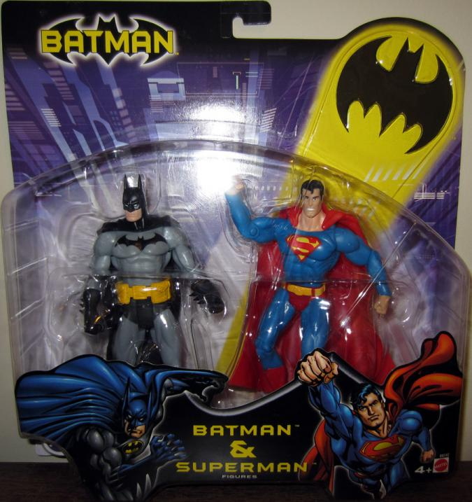 Batman Superman 2-Pack carded