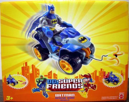 Batman Rescue Quad Vehicle DC Super Friends action figure