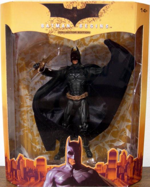 Batman Begins Collector Edition Figure ToyFare Exclusive