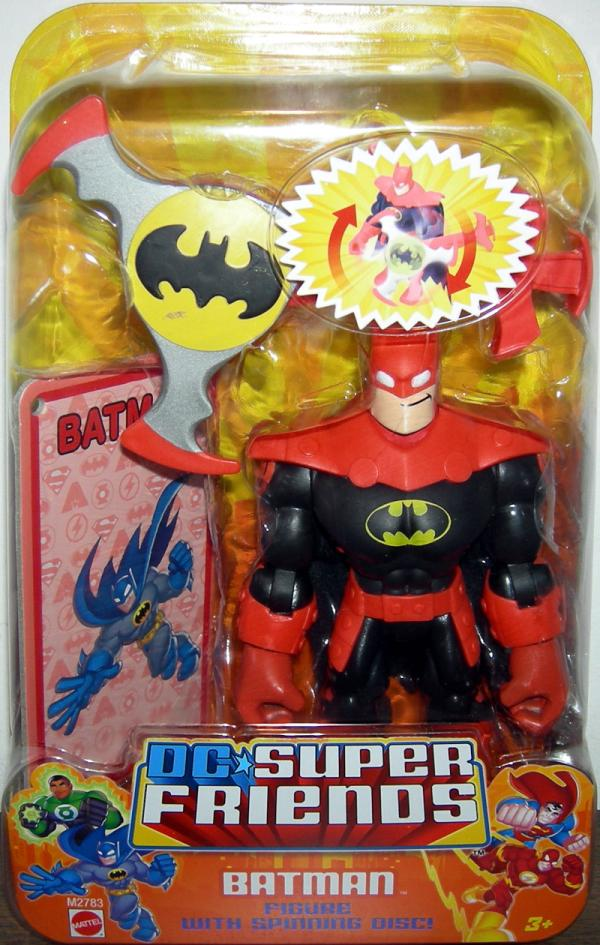 Batman Figure Spinning Disc DC Super Friends