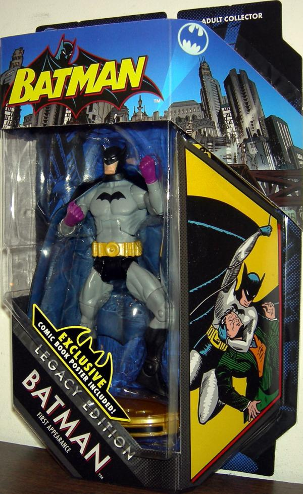 Batman First Appearance DC Universe, Legacy Edition