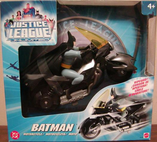 Batman Motorcycle Justice League Unlimited