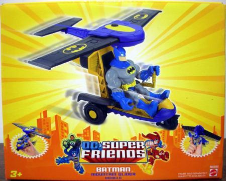 Batman Mountain Glider Figure Vehicle DC Super Friends