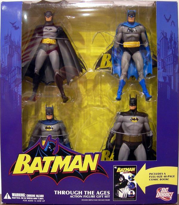 Batman Through Ages Action Figure Gift Set DC Direct