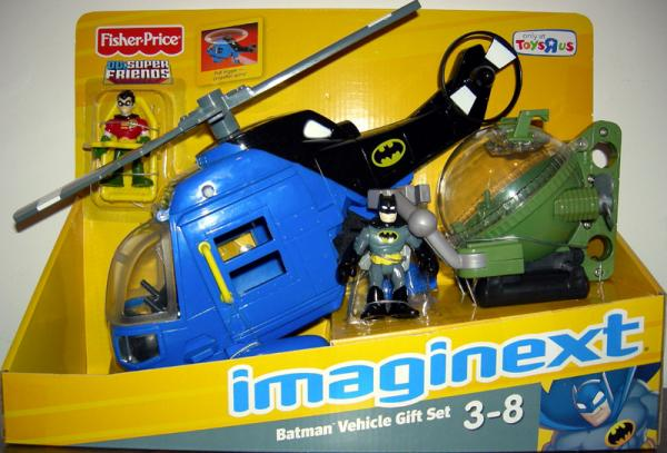 Batman Vehicle Gift Set Imaginext DC SuperFriends