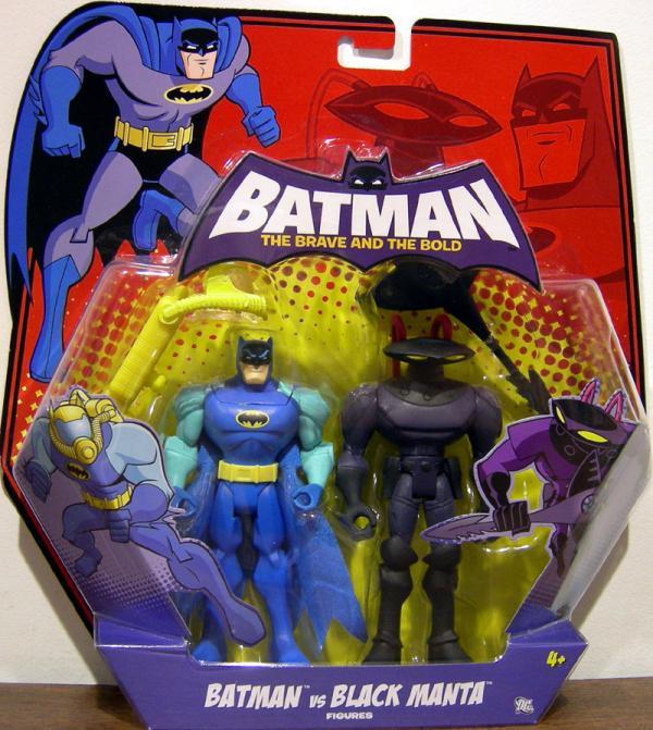Batman vs Black Manta