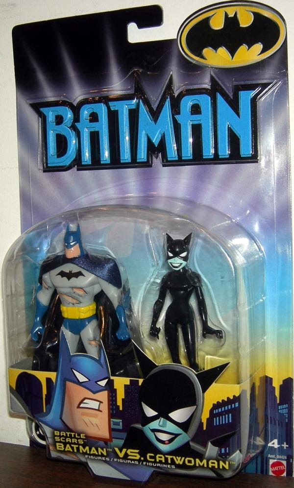 Battle Scars Batman vs Catwoman