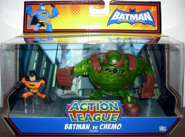 Batman vs Chemo Action League