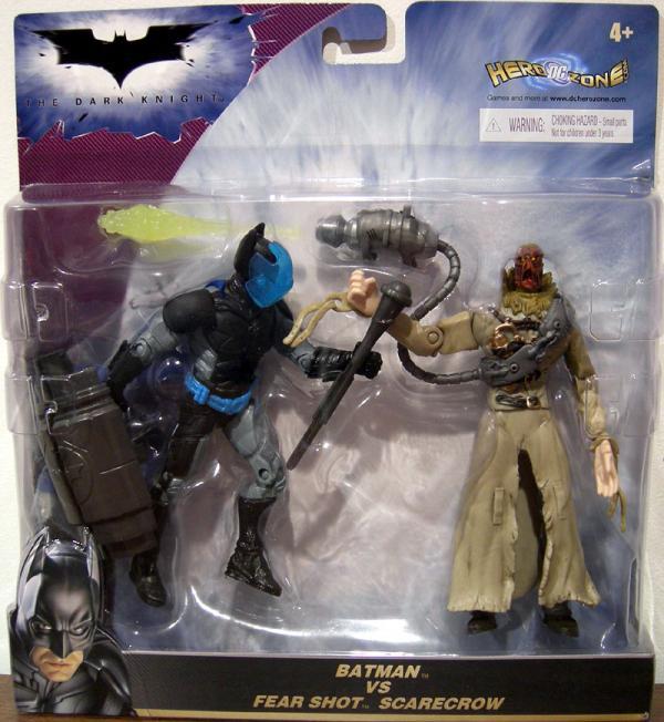 Batman vs Fear Shot Scarecrow 2-Pack Dark Knight