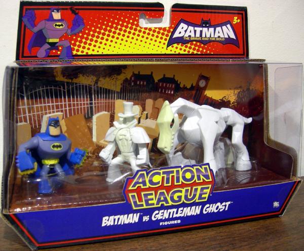 Batman vs Gentleman Ghost Action League figures
