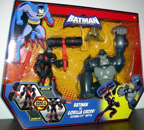 Batman vs Gorilla Grodd 2-Pack