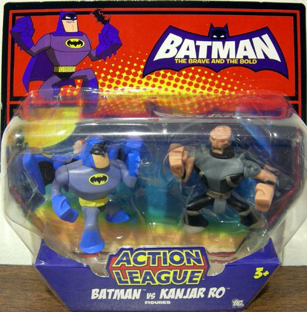 Batman vs Kanjar Ro Action League