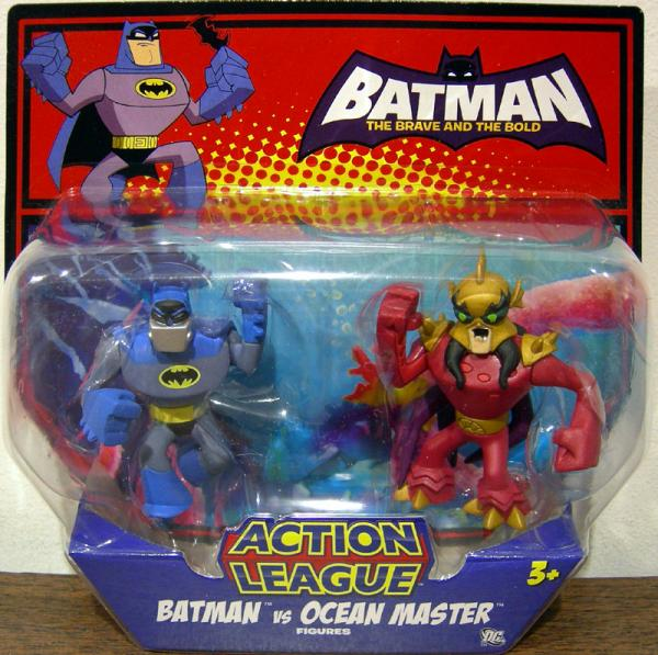 Batman vs Ocean Master Action League