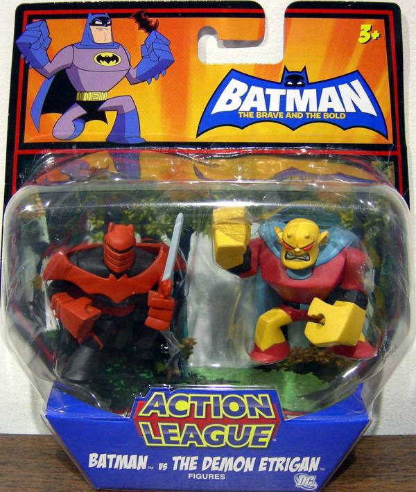 Batman vs Demon Etrigan Action League