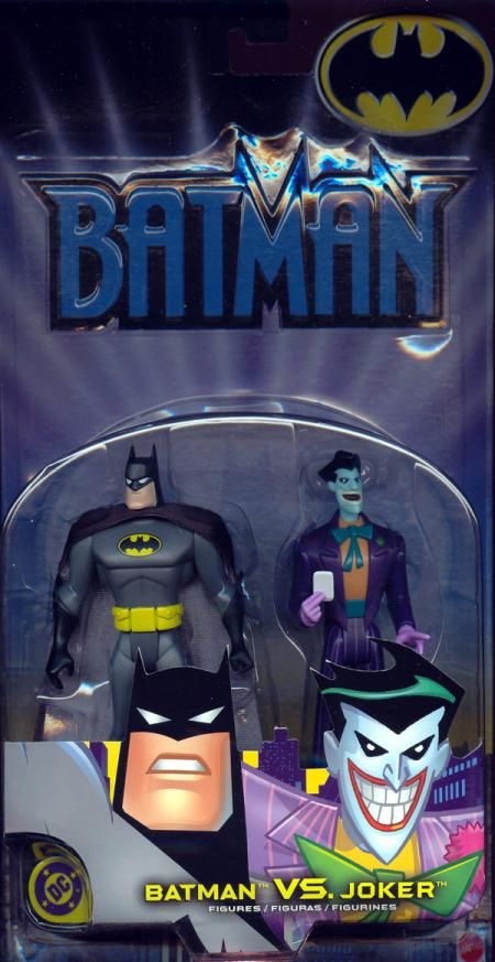 Batman vs Joker carded action figures