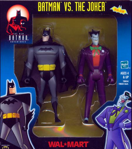 Batman vs Joker boxed