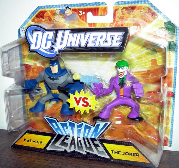 Batman vs Joker DC Universe Action League