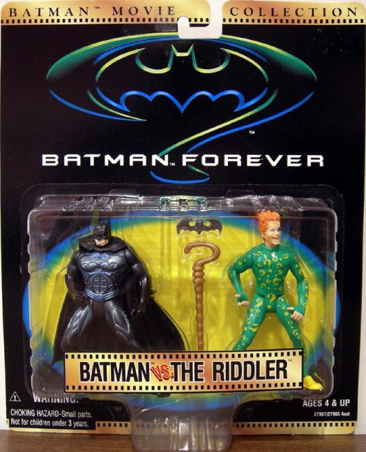 Batman vs Riddler Movie Collection action figures
