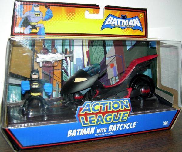Batman Batcycle Action League