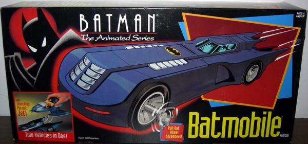 Batmobile Batman Animated Series