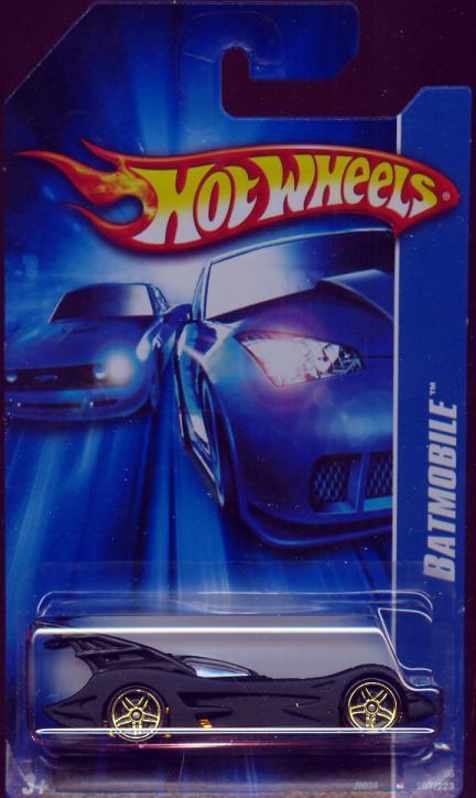 Batmobile Hot Wheels, 207