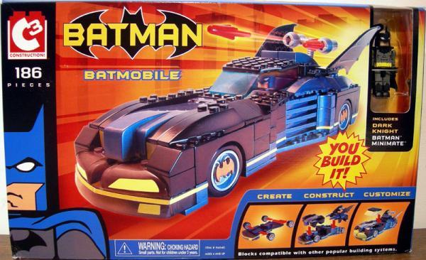 Batmobile C3 Dark Knight Batman Minimate