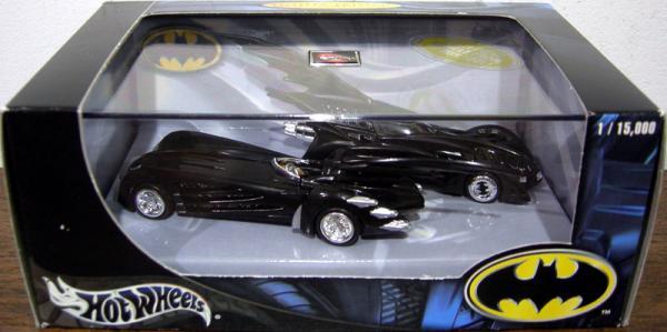 Batmobile 2-Pack Hot Wheels 1-64th scale