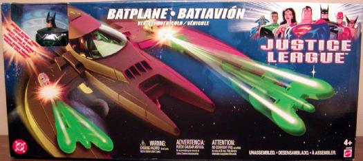 Batplane Justice League