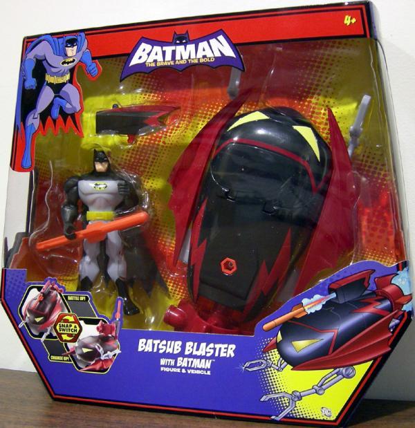 Batsub Blaster Batman