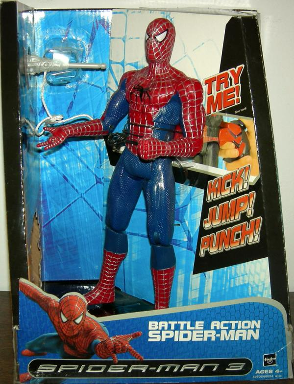 11 inch Battle Action Spider-Man 3
