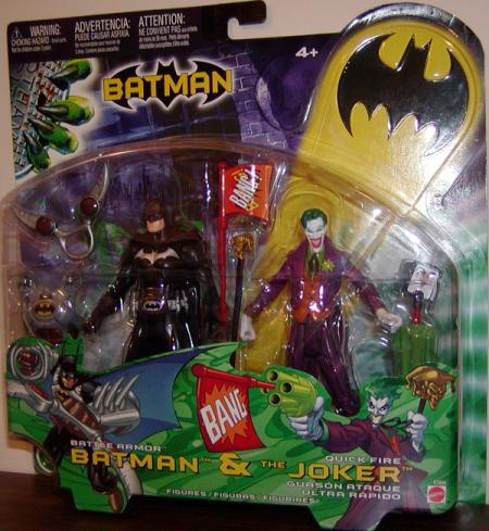 Battle Armor Batman Quick Fire Joker 2-Pack