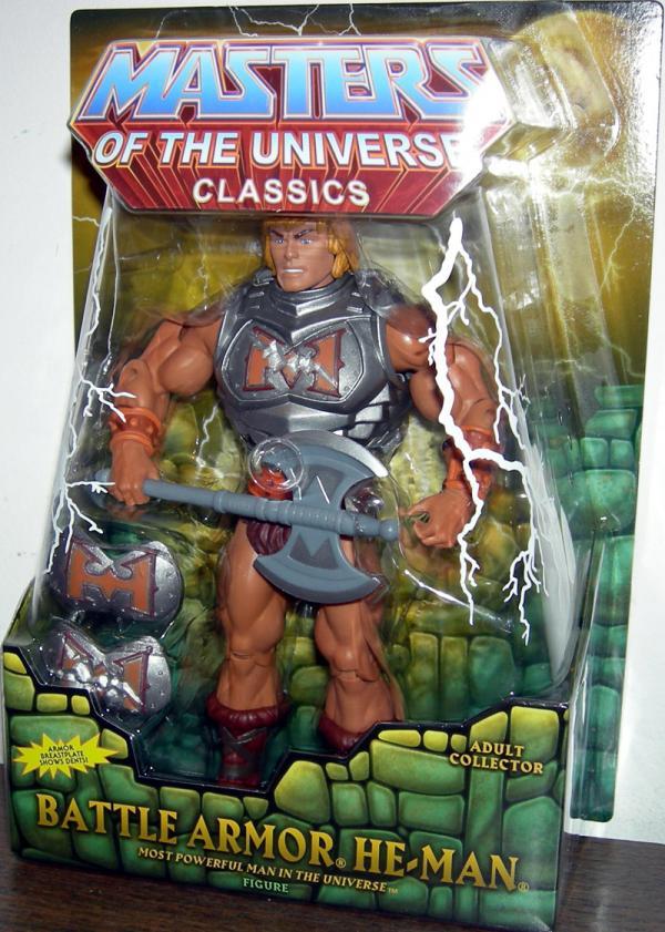 Battle Armor He-Man Figure Classics Masters Universe