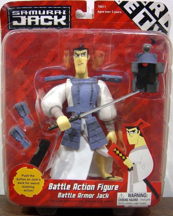 Battle Armor Samurai Jack Action Figure Equity