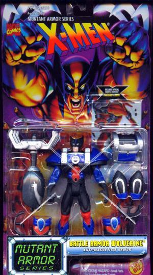 Battle Armor Wolverine Figure X-Men Mutant Armor Series