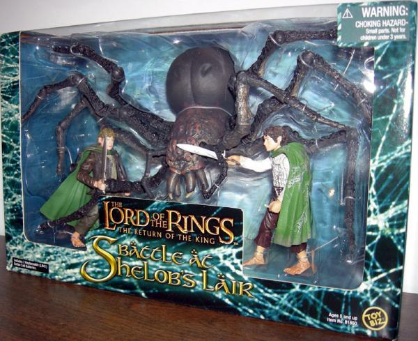 Battle Shelobs Lair Figures Lord Rings Return King