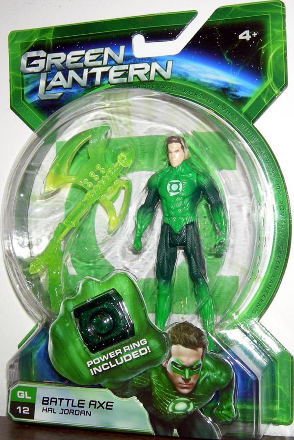 Battle Axe Hal Jordan 12